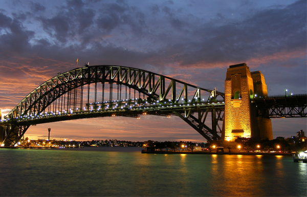 Cầu Sydney Harbour Bridge